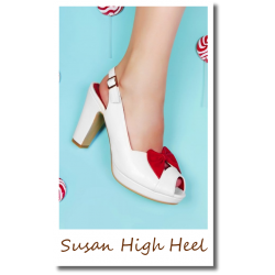 Susan High Heel white