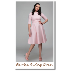Bertha Swing Dress pink