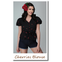 Mini Cherries Blouse