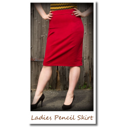 Ladies Perfect Pencil Skirt...