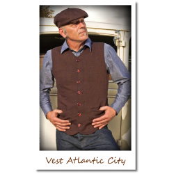 Vintage Vest Atlantic City...
