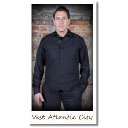 Vest Atlantic City gestreift