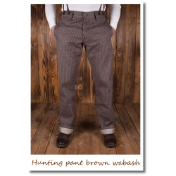 Hunting pant brown wabash