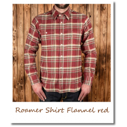 Roamer Shirt Flannel red