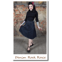 Denim Rock Rosie