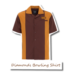 50's Diamonds Bowling Shirt