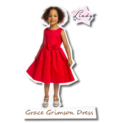 Grace Grimson Dress red