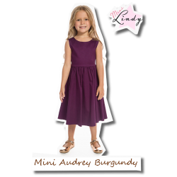 Mini Audrey Children burgundy