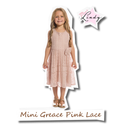 Mini Grace Children Pink Lace