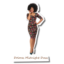 Dolores Midnight Pencil Dress