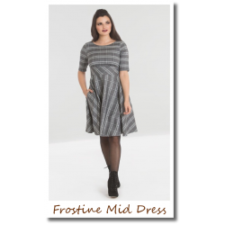 Frostine Mid Dress Grey