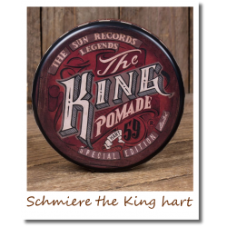 Schmiere the King hart