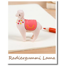 Radiergummi Dolly Lama