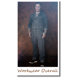 Workwear Overall gray