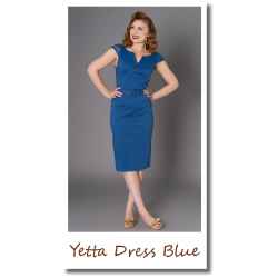 Yetta Dress Blue