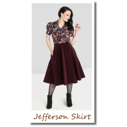 Jefferson Skirt wine