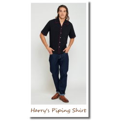 Harry's Piping Shirt