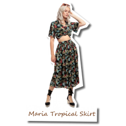 Maria Tropical Skirt