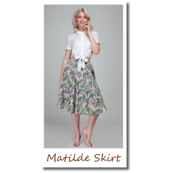 Matilde Pink Forest Skirt