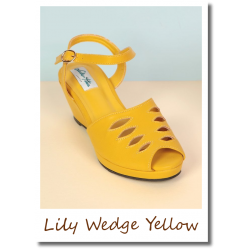 Lily Wedge Yellow