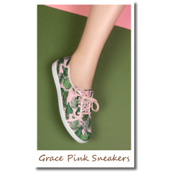 Grace Pink Sneakers