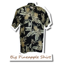 Big Pineapple Shirt Black