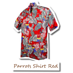 Parrots Shirt Red