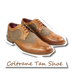 Coltrane Tan Shoe brown