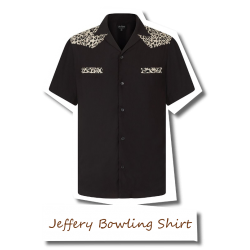 Jeffery Leo Bowling Shirt