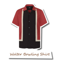 Walter Panel Bowling Shirt