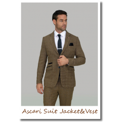 Ascari Suit Jacket&Vest