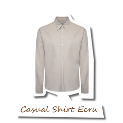 Casual Shirt Ecru