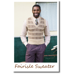 Fairisle Sweater brown
