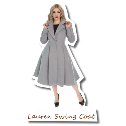 Lauren Swing Coat grey