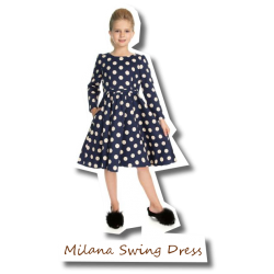 Girls Milana Swing Dress