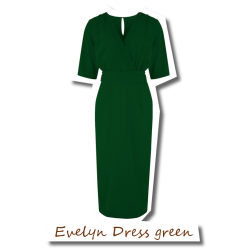 Evelyn Dress green