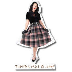 Tabitha skirt with scarf
