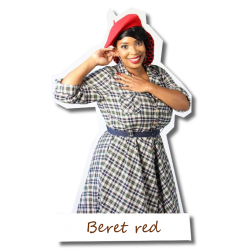 Beret in red