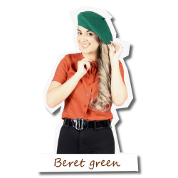 Beret in green