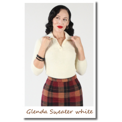 Glenda Sweater white