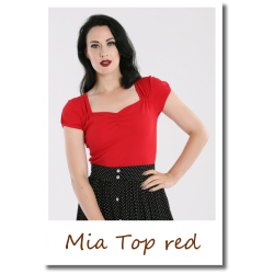 Mia Top red