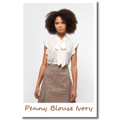 Penny Blouse Ivory
