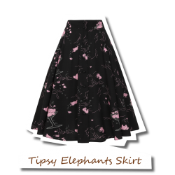 Megan Tipsy Elephants Skirt